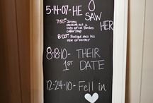 Story board wedding ideas