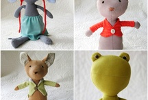 Stuffed Animals And Dolls / by Kathy Cleveland