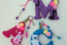 Key ring holders for kids bags