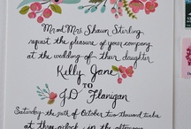 Wedding Stationery / by Kerri-Jane Mitchell