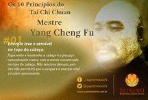 Os 10 Princípios do Tai Chi Chuan do Mestre Yang Cheng Fu