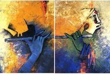 Krishna Paintings
