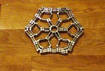 Magnetic toy (hexagon)