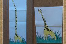 Mes creations en papier pour les petits!