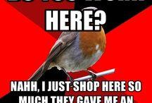 retail robin / by Shana Colburn