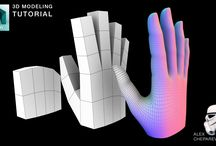 Modelling / 3D modelling tutorials, artworks and components
