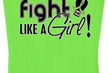 Lymphoma Shirts and Gifts / Lymphoma t-shirts, apparel, gifts, and merchandise to support and bring awareness to Lymphoma from the official Fight Like a Girl brand.