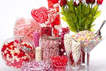 candy &  desert table