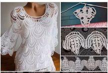 Crochet Blouse tutorial