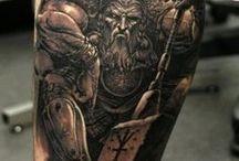 3D Viking Tattoo