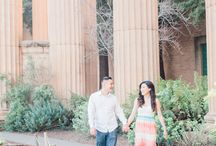 Palace of Fine Arts and Baker Beach Engagement Session
