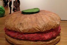 Claes Olenberg - food sculpture