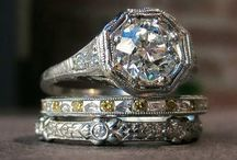 Vintage Stacked Bling