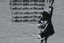 Ungdomsskole inspiration Street art