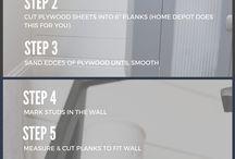 Shiplap tutorials