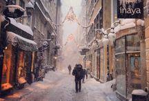 snö/vinter