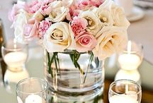 table centerpieces with candles