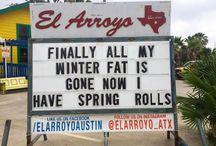 El Arroyo Signs