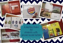 Adapted Books-sped / by Okie Teacher Tales