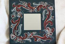 Rosemaling / Peinture / by geomounette