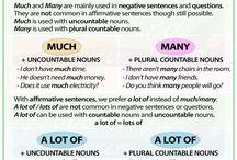 much- many