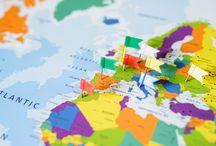 Gedetailleerde wereldkaarten