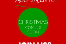 Christmas @ All Saints / Christmas is such a busy time at All Saints, Llandaff North. Why not come and celebrate with us?
