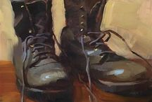 Shoe Paintings