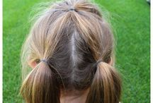 Children's Simple Hair Styles