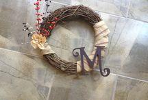 Wreaths / by Amy Bailey-Farmer
