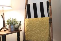 Pallet blanket ladder