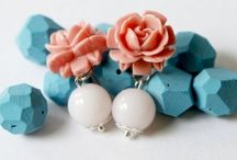flower cabochon jewelry