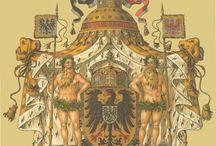 Hugo Gerard Ströhl - heraldikk / Våpen fra det tyske rike und med stater, Preussen og Ungarn