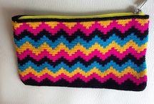 crochet mochilas, carteras