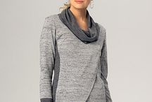 Overlapping cardigan