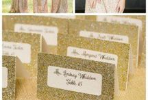 All Gold Everything! / Gold is always an elegant touch to any wedding theme!