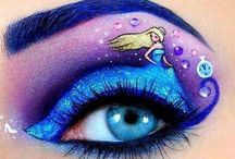 Fairy Tale Make Up / Fairy tale make up inspiration for college assessment