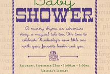 A Book Party / The perfect theme for a baby shower or a little one's birthday... adorn with vintage books, and sweet storybook imagery for a memorable party.