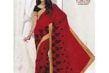 Partywear Sarees / Get wide range of Enchanting and Partywear sarees #styleindia. http://styleindia.com.au