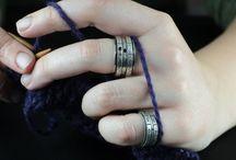 Kristan! / Knitters jewellery on etsy