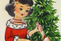 Vintage Christmas Illustrations / Vintage Christmas illustrations / by Renie Britenbucher Artwork & Illustration