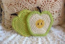 Crochet COASTERS & MANDALAS