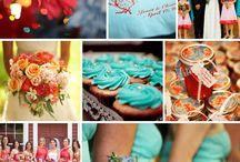 Χρώμα στον Γάμο / Η επιλογή χρωματικών συνδιασμών για την ημέρα του γάμου, από τα ρούχα και τα αξεσουάρ, έως την διακόσμηση της δεξίωσης, βοηθά και στην  διάθεση τόσο του ζευγαριού όσο και των καλεσμένων.