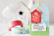 Craft ~ New Home / New Home ~ cards, packaging, tags, wrapping and gifts