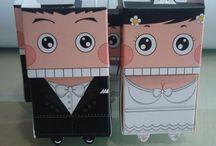 Bomboniere matrimonio - Wedding favors / Bomboniere e portaconfetti originali per matrimonio.