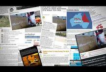 Reklamiranje sajta / Reklamiranje sajta: u novinama, na zidu, na čarapama, na bilbordu...
