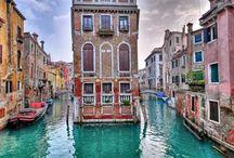 Places I'd Like to Go / venice and paris