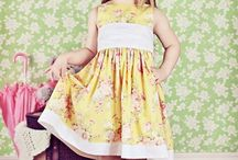 dress pattern for little girl
