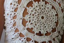 aplicação crochê