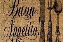 Buon appetito! : D